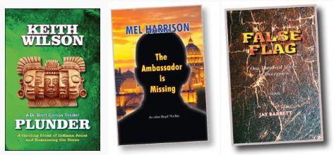 Three New Thrillers from Hallard Press