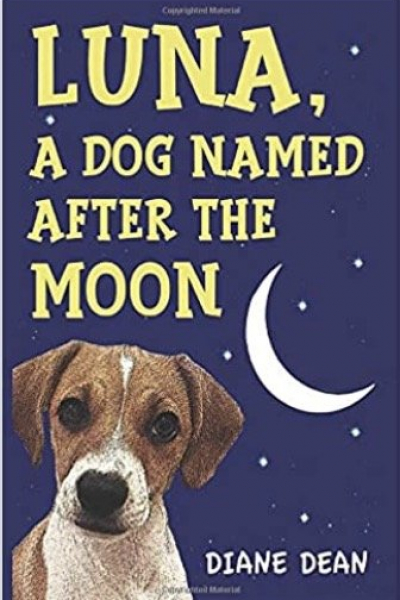Luna, a dog named after the moon