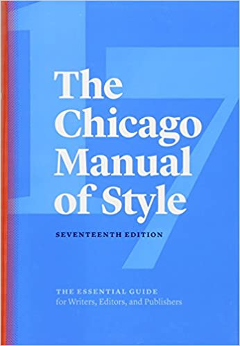 Chicago Manual of Style, Merriam-Webster, and Style Sheets