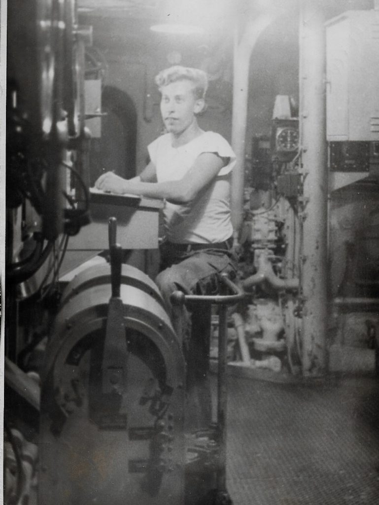 Engine Room of LST