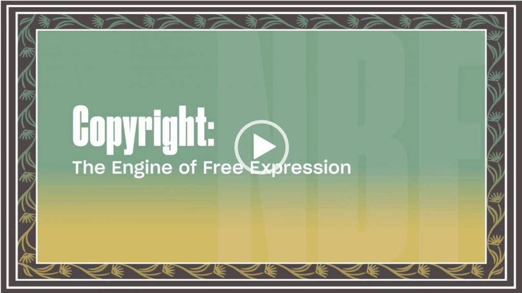 Copyright: The Engine of Free Expression: 2021 National Book Festival